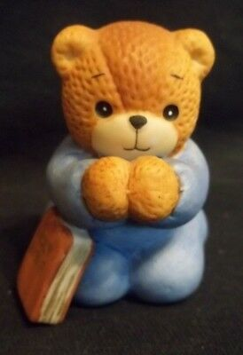 Darling 1985 lucy and me by Lucy Rigg Teddy Bear praying with bible