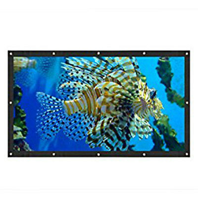 Projector Curtain Projection Screen Durable Foldable Home Cinema Outdoor