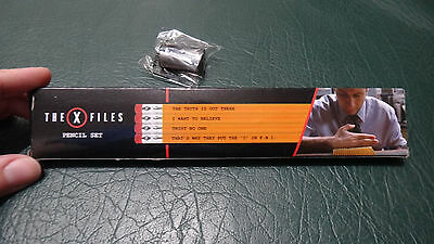 Loot Crate Exclusive The X-Files Sayings Pencil Set Lootcrate Pencil Sharpner