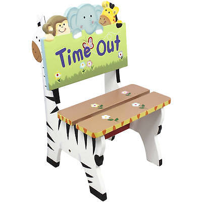 Fantasy Fields - Sunny Safari Animals Thematic Kids Time Out Chair | Imagination