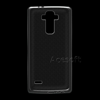 Waterproof Clear Soft Silicone Rubber Protective Case for LG G4 US991 Smartphone