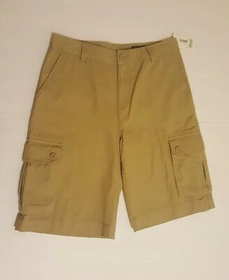 Polo Ralph Lauren Boys Classic Polo Chino Cargo Shorts CLS KHAKI NWT size 18