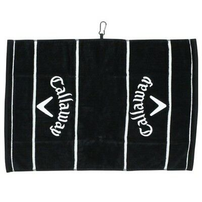 (Black) - Callaway Golf- Deluxe Towel. Unbranded. Shipping is Free