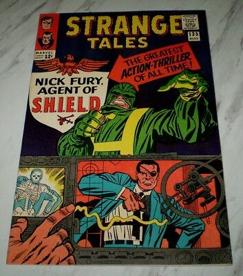 Strange Tales #135 NM+ 9.6 OW pages 1965 Marvel Dr. Strange 1st Nick Fury SHIELD