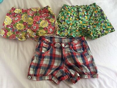 Zara Girls Shorts 7/8 X 3