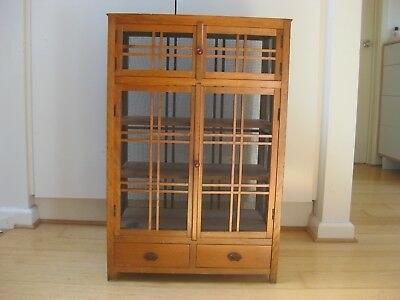 Antique Rustic Kitchen Cabinet / Meat safe / Pantry