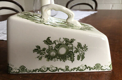 Vintage English-Style China Cheese Dish Cover