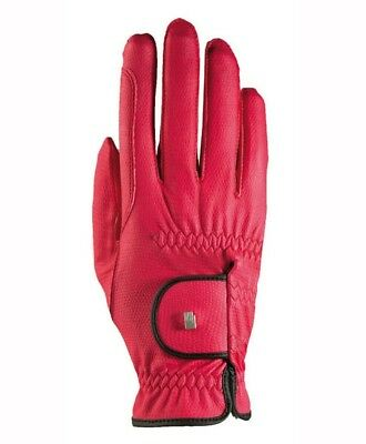 (6.5, mocca-gold) - Roeckl - ladies contrast riding gloves LONA. Free Shipping