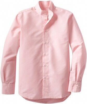 (14, Pink) - TuffRider Girl's Starter Long Sleeve Show Shirt. Shipping Included