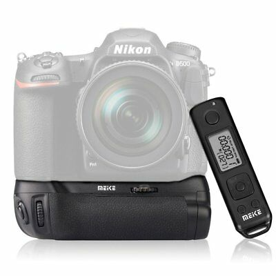 Meike MK-D500 Pro Battery Grip with Wireless Remote Control Pack for Nikon D500