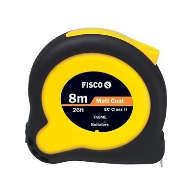 Fisco TK80126132 Tuf-Lok Hi Vis Tape Measure 8m/26ft Width 25mm