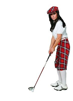 (8, Red Plaid) - Women's Turnberry Plaid Golf Knickers. Kings Cross Knickers