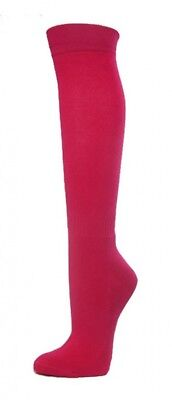 (Small, Hot Pink) - COUVER Premium Quality Knee High Sports Athletic Baseball