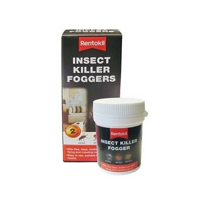 Rentokil FI65 Insect Killer Foggers Pack of 2