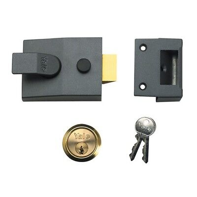 Yale Locks 630088001709 88 Standard Nightlatch 60mm DMG Finish SC Cylinder