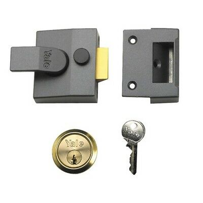 Yale Locks 630084005702 P84 Standard Nightlatch 40mm Backset DMG