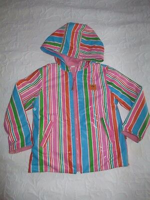 Penny Scallan stripe raincoat (size 4)