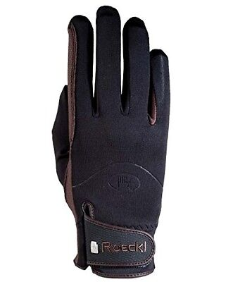 Roeckl Winchester Riding Gloves 8 Black. Free Shipping