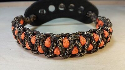 Muddy River Gear Archery Bow Wrist Sling Ground War and Orange Caged