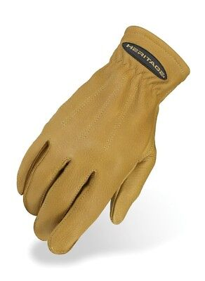 HERITAGE DEERSKIN WINTER TRAIL GLOVES. Heritage Products. Brand New