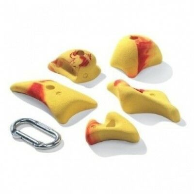 Nicros HHZI Pinches Connotations Handholds - Yellow. Free Delivery