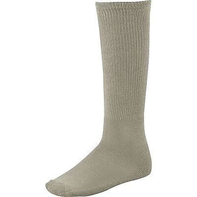 (Large, Light Gray) - Twin City Adult All-Sport Solid Colour Tube Socks