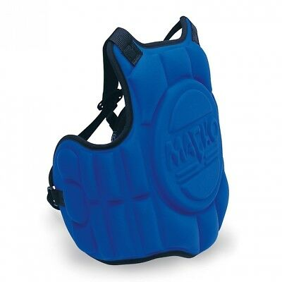 (Child, Blue) - Macho Chest Guard. Macho Martial Arts. Delivery is Free