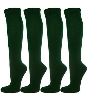 (Large, Dark Green) - Knee High Premium Quality Sports Athletic Baseball