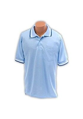 Umpire Shirt AM in Light Blue (Large). Athletic Connection. Huge Saving