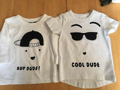 Baby Boys Next T-Shirts Age 6-9 Months