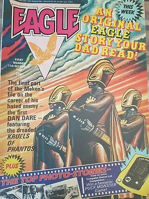 Eagle comic 10 issues from 1982  Starting Bid @ 20p each Original Cover Price!.