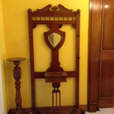Antique Mahogany Hall Stand in beautiful condition