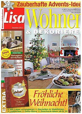 zeitschrift lisa wohnen dekorieren nr 2 2015 eur 1. Black Bedroom Furniture Sets. Home Design Ideas