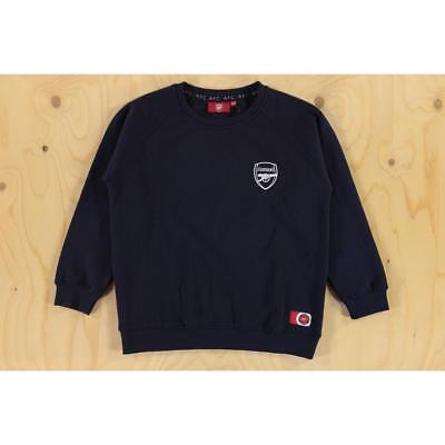 Size 12-13 Years Arsenal Official Football Club Essential Sweatshirt Navy Kit