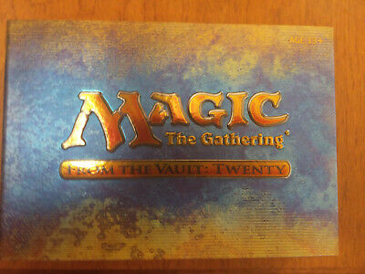 From the Vault: Twenty Magic the Gathering FTV 20 Sealed Jace the Mind Sculptor
