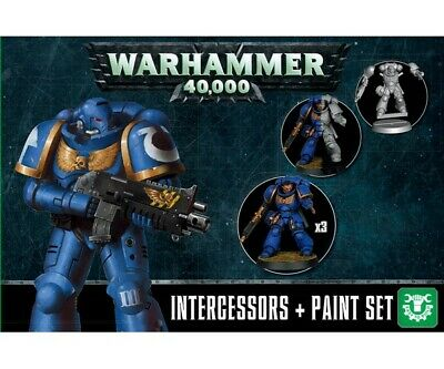 Warhammer 40000 60-11 Intercessors+ Paint Set