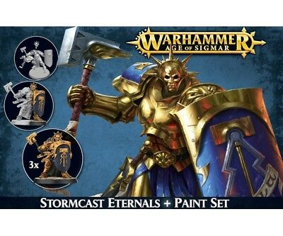 Warhammer Age of Sigmar 60-10 Stormcast Eternals + Paint Set