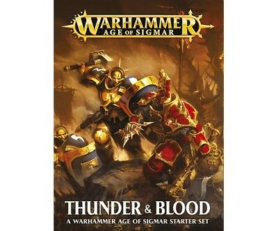 Warhammer Age of Sigmar 80-19-04 Age Of Sigmar: Thunder & Blood (Deutsch)