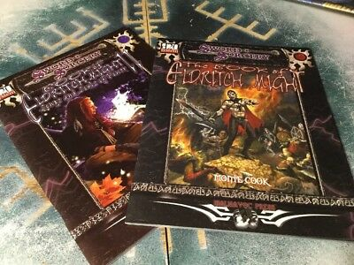 The Book Of Eldritch Might By Monte Cook ~ Sword & Sorcery Lot ~ Malhavoc Press