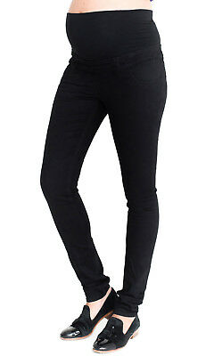 Maternity New Look Over Bump Jeggings, Skinny Black Pregnancy Jeans Sizes 8-20