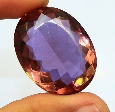 Great Deal 96.80Ct Certified Wonderful Color Changing Alexandrite Gems AX4456