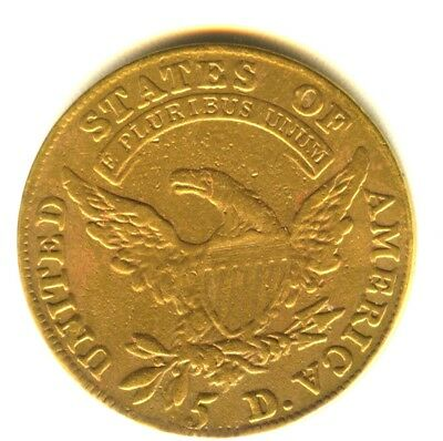 1810 Capped Bust Half Eagle Scarce Early Gold Type Coin XF Details