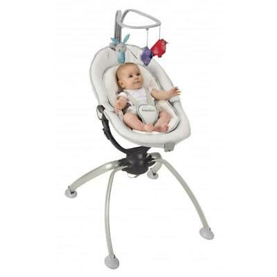 Babymoov Swoon Up Bouncer Aluminium Baby Infant Compact Bouncer NEW RRP £149
