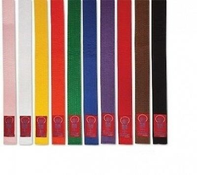 Proforce Gladiator Double Wrap Karate Belts-WHITE #6. Pro Force. Free Delivery