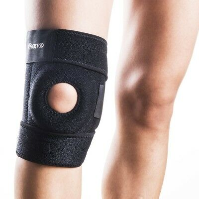 FREETOO Knee Supporter Knee Immobilisation Joint Ligament Protection Free Size