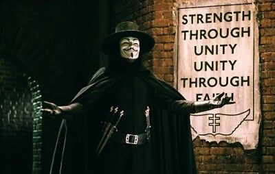 (Unframed) - V for Vendetta. Pop Culture Graphics. Free Delivery