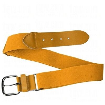 (Gold) - Athletic Specialties Youth Adjustable Elastic Belts. Huge Saving