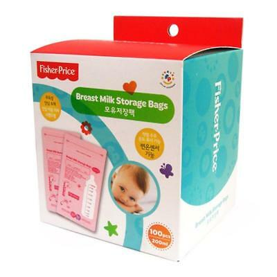 Fisher-Price Breastmilk Storage Bags (100sheets)