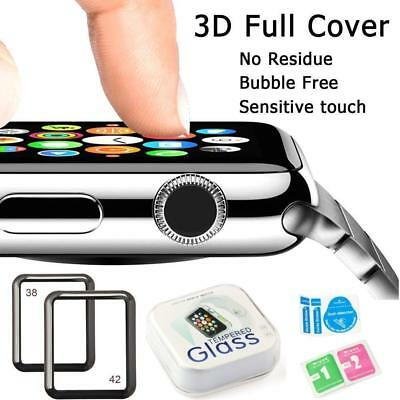 iWatch 42mm 3D Full Cover Tempered Glass Screen Protector