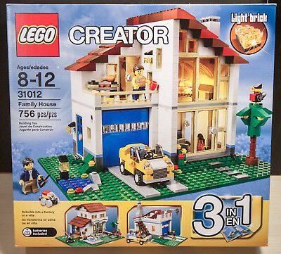 Lego Creator Family House 31012 New Sealed Box 10500 Picclick